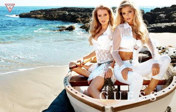 Beach Babes Fashion Ads