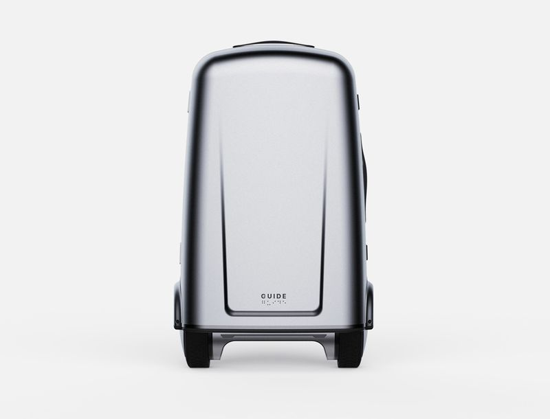 Self-Driving Guidance Suitcases