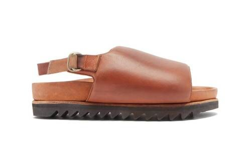 Luxurious Leather Sandals