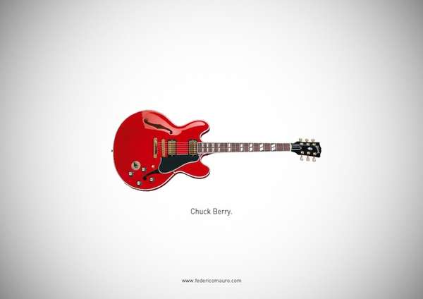 Renowned Guitar Posters