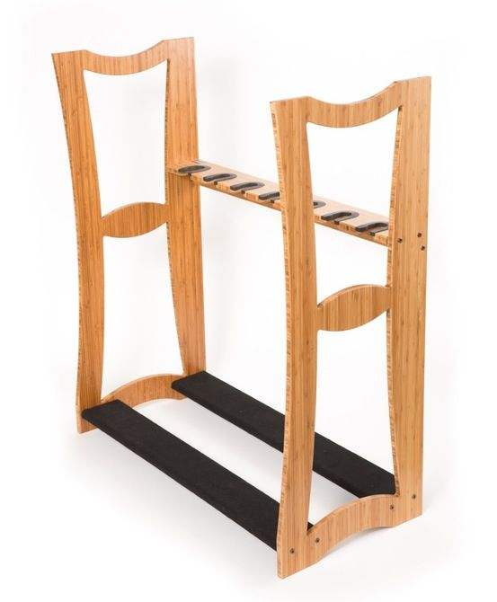 Bamboo Guitar Racks