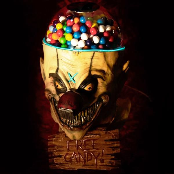 Creepy Clown Candy Machines