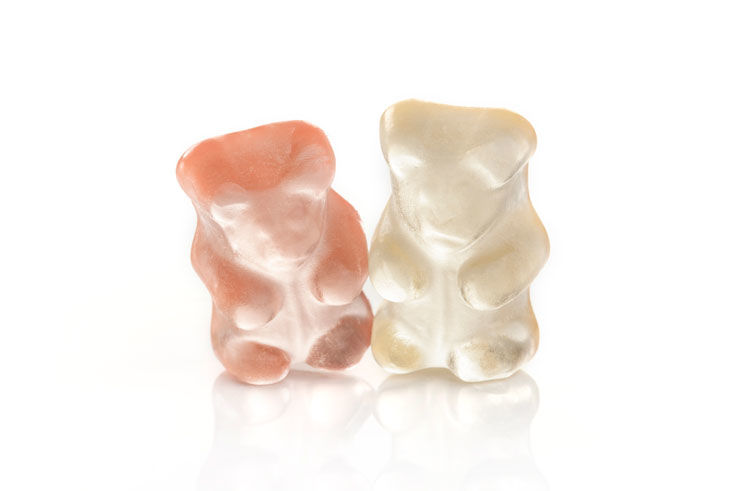 Champagne Bear Candies