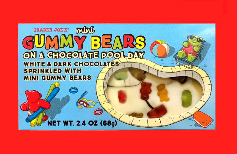 Gummy Bear-Studded Chocolates