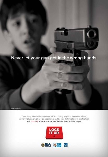Parent-Guilting Firearm PSAs