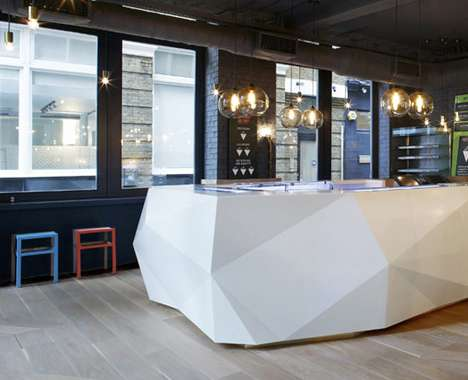 Faceted Fish Restaurants