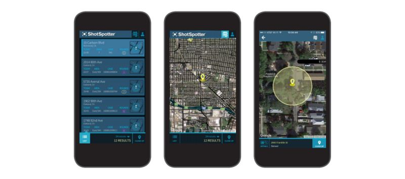 Gunfire Alert Apps