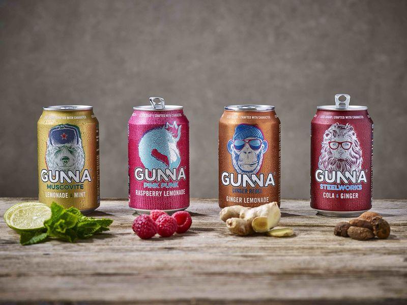 Funky Cartoon Beverage Redesigns