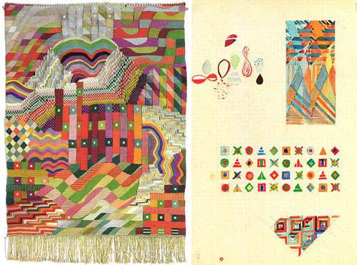 Patterned Textile Drawings