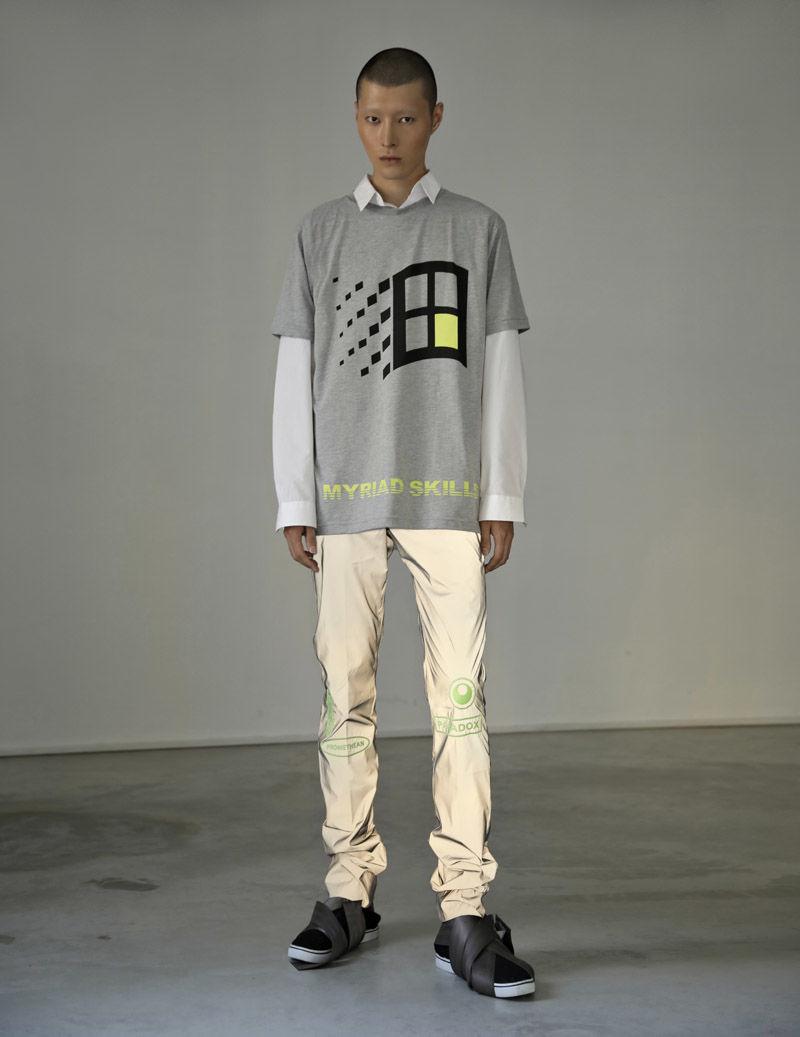 High-End Graphic Sportswear