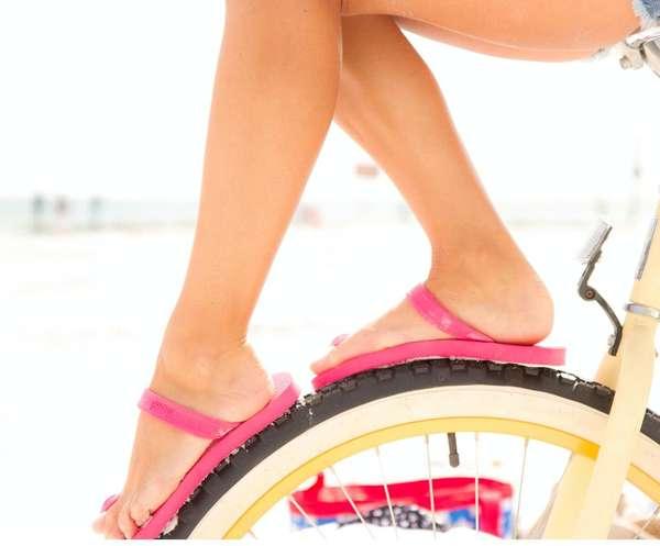 Ghandi-Inspired Flip Flops