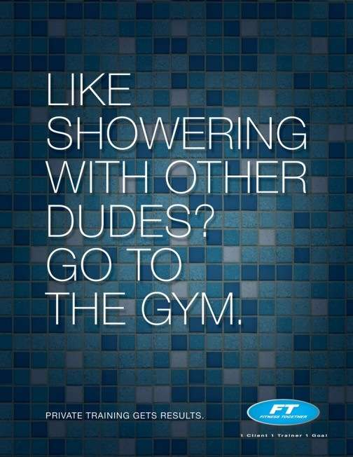 Cheeky Gym Ads