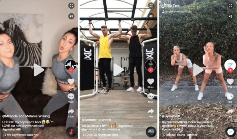 Sporty Fitness Influencer Campaigns