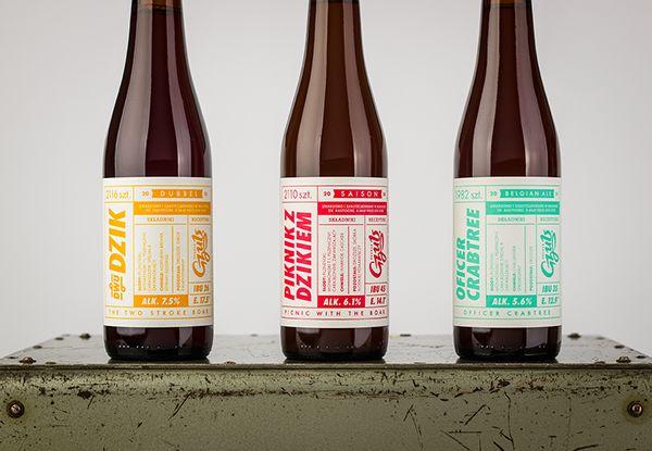 Retro Beer Branding