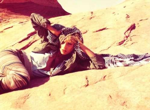 Scorching Desert Shoots