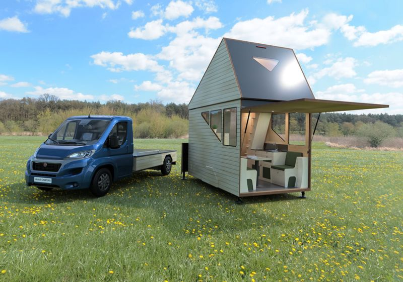 Expandable Two-Story Tiny Homes