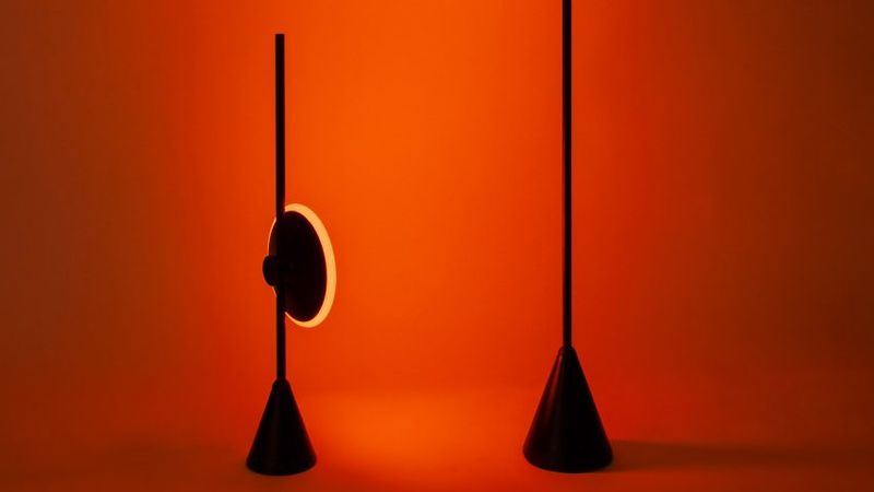 Sun-Like Color-Changing Lamps