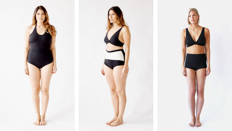 Shape-Specific Swimwear