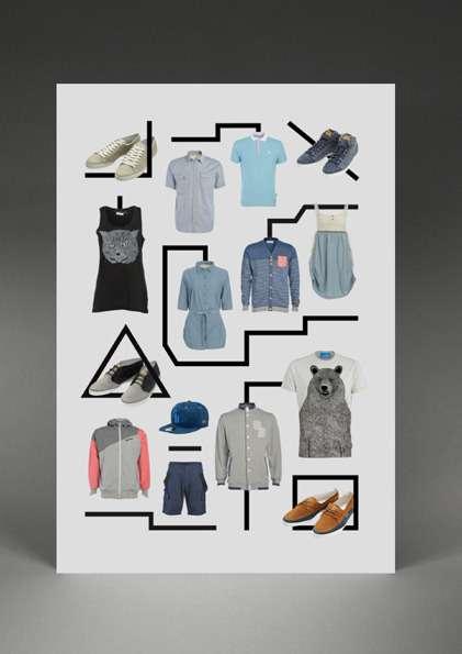 Minimalist Clothing Fontvertising