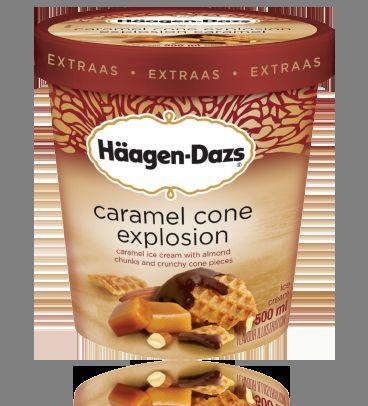 Crunchy Hybrid Frozen Desserts