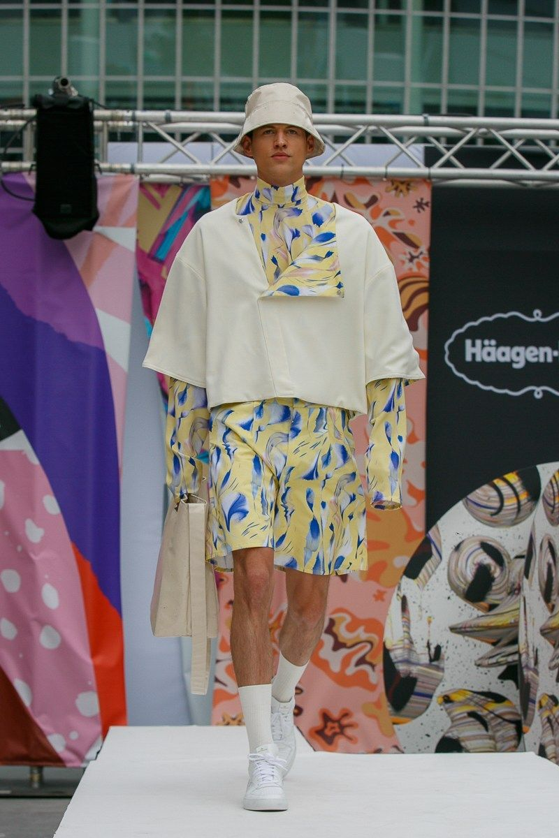 Frozen Dessert-Inspired Fashion - 'Häagen-Dazs Designed by Kilian Kerner' Shares Runway Fashion (TrendHunter.com)