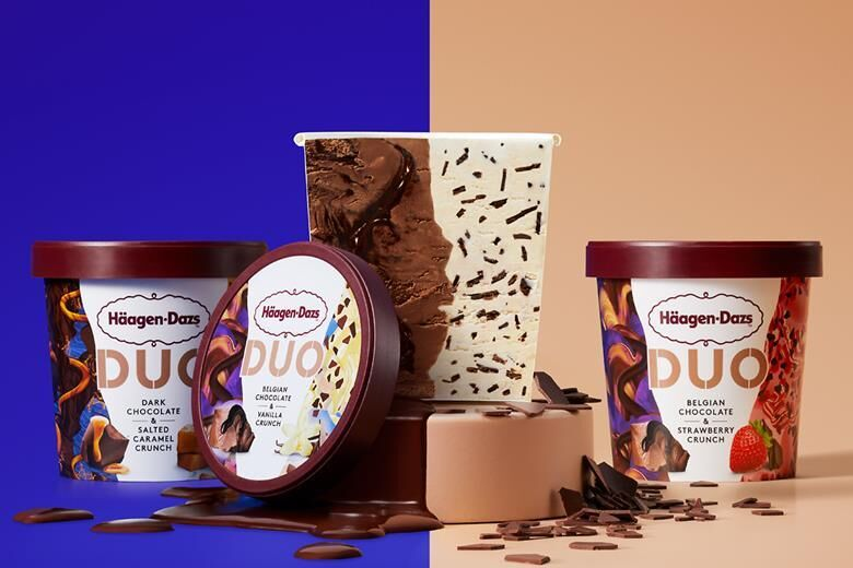 Two-in-One Ice Creams