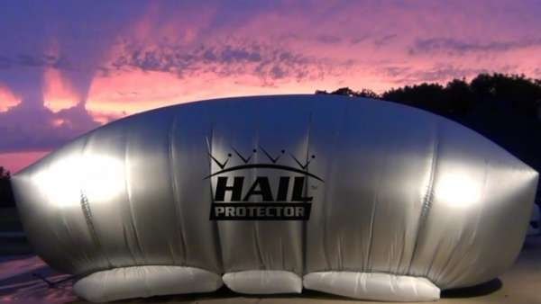 Hail-Fighting Car Covers