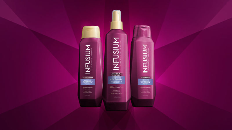 Prismatic Hair Product Packaging