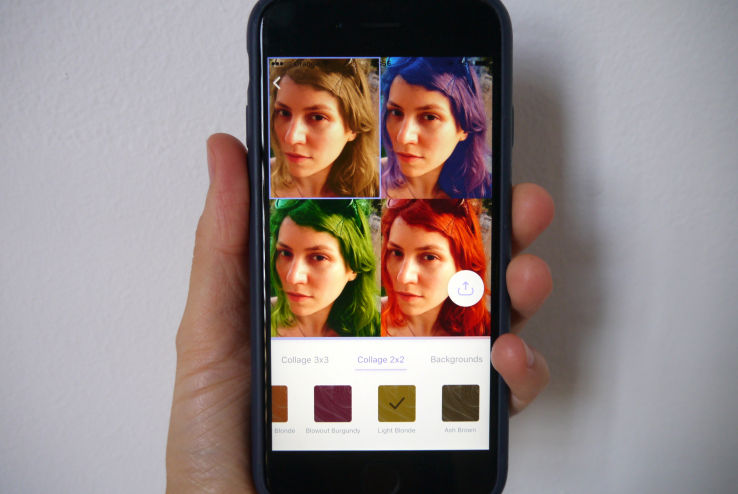 AI-Infused Hair Coloring Apps : hair coloring app