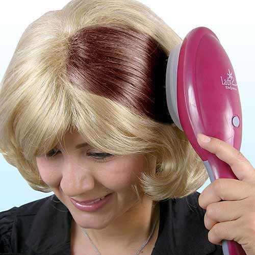 Brush In Hair Dye The Hair Coloring Brush Lets You Sweep