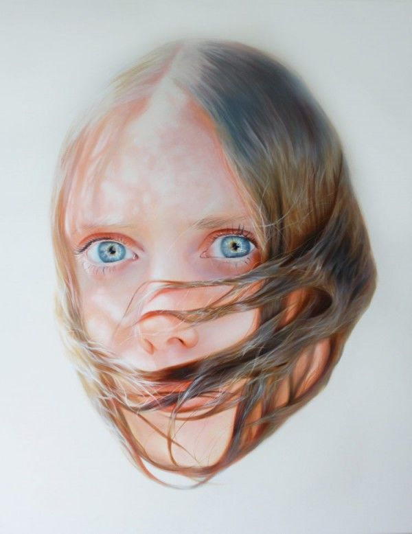 Trapped Hair Portraits
