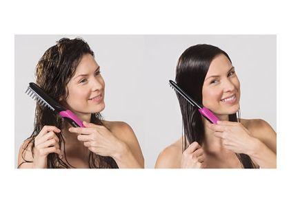 Vibrating Hair-Smoothing Combs