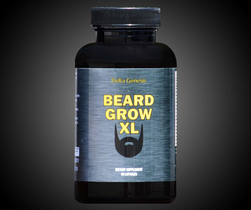 Natural Facial Hair Supplements