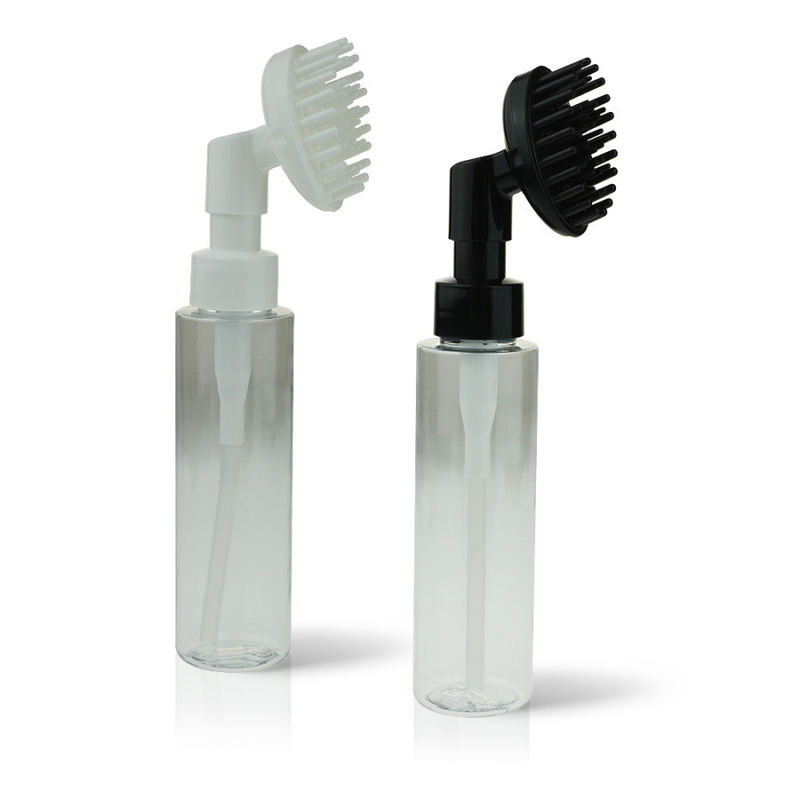 Hairbrush Dispensing Pumps