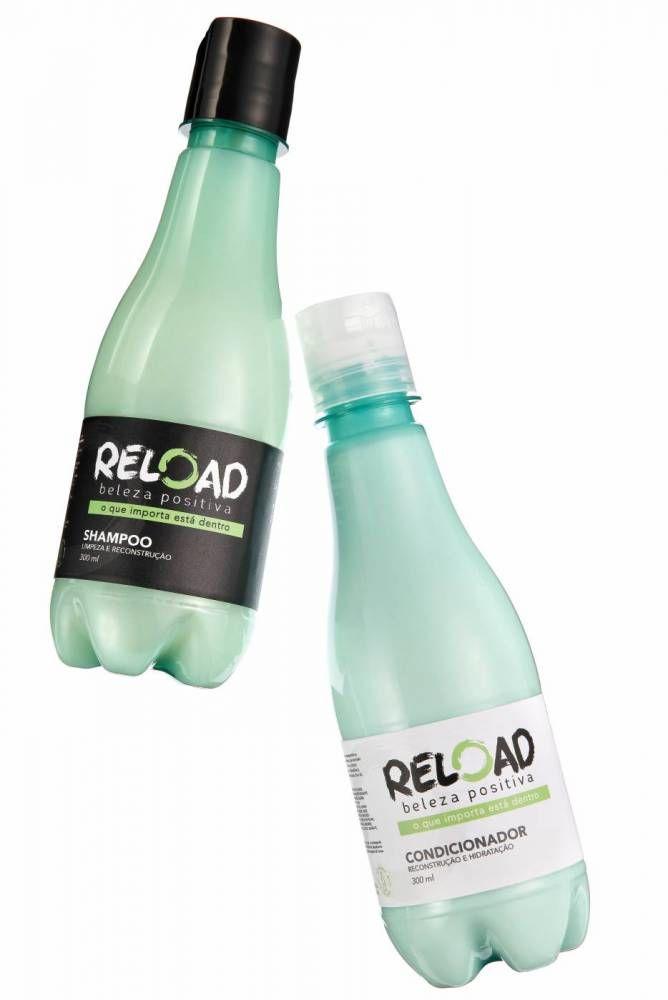 Repurposed Haircare Bottles