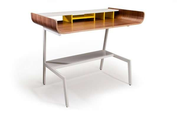 Recycled Skateboard Desk or Console Table by Deckstool. Fine furniture made  from recycled skateboards in