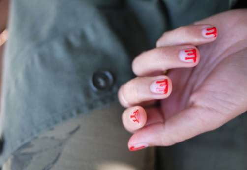 Killer Splattered Manicures