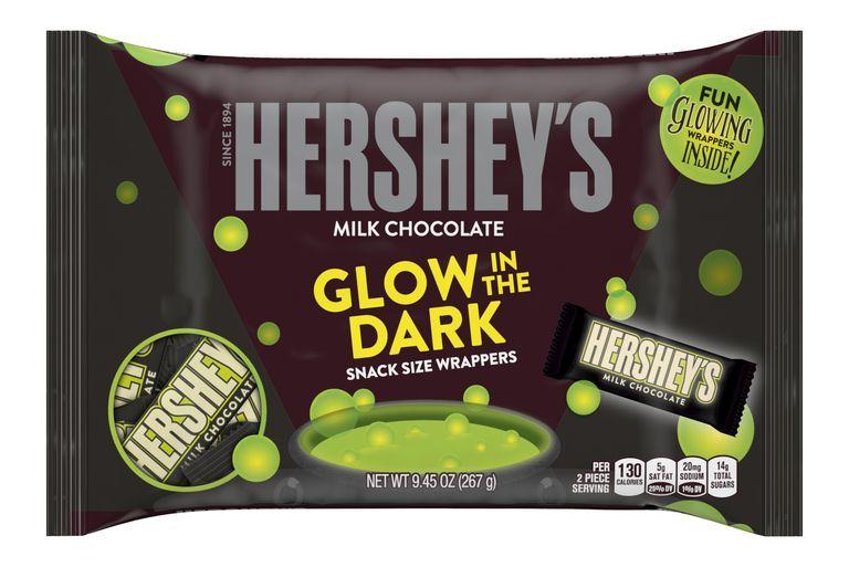 Luminous Halloween Candy Bars