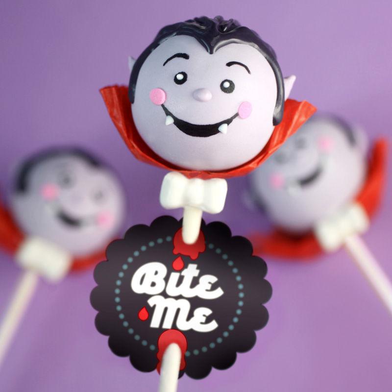 Vampiric Cake Pops