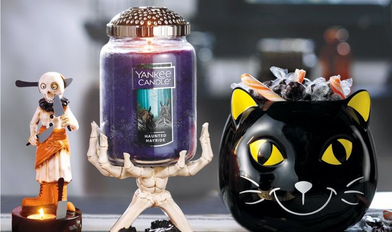 Spooky Seasonal Candle Collections