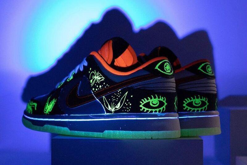 Glowing Detailed Halloween Sneakers