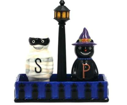 Adorably Spooky Spice Containers