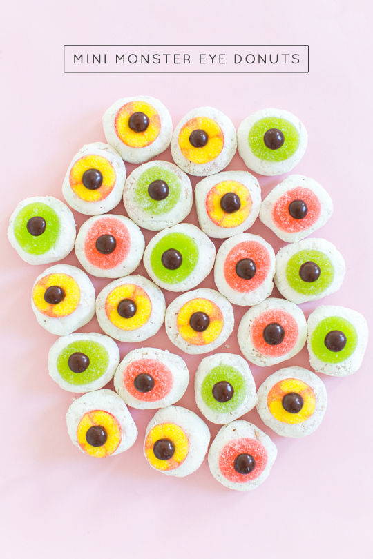 Festive Cyclops Donuts