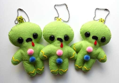 Zombie Cookie Trinkets