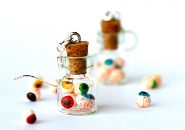 Eyeball Jar Earrings