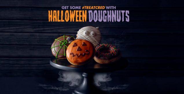 Halloween Doughnut Promotions
