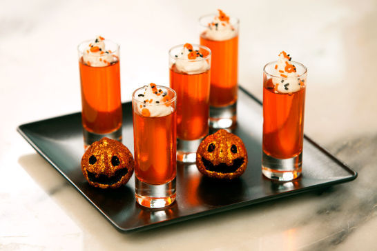 Festive Shot Glass Desserts