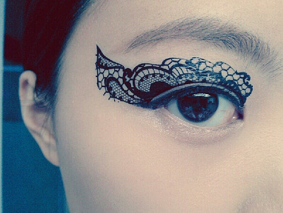 Temporary Costume Eye Tattoos