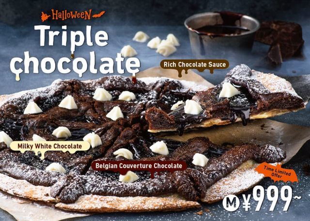 Chocolate-Covered QSR Pizzas