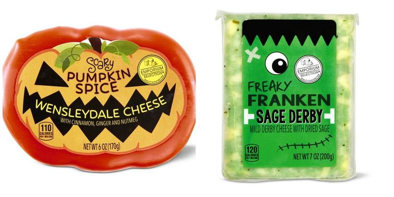 Festive Halloween-Themed Cheeses